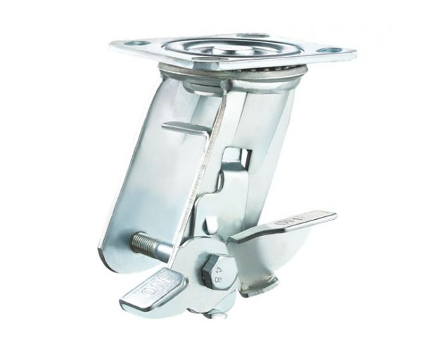 Swivel (metal) side brake zinc plated bracket code