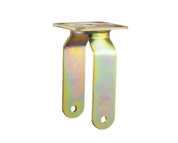 Rigid color zinc plated bracket code